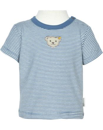 Steiff T-Shirt short sleeve BABY GOTS UNISEX coronet blue 2112524-6048
