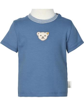 Steiff T-Shirt short sleeve BABY GOTS UNISEX coronet blue 2112525-6048