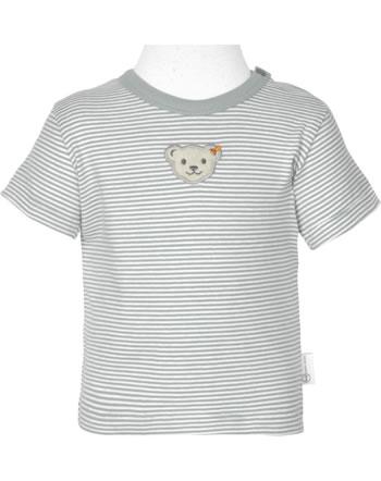 Steiff T-Shirt short sleeve BABY GOTS UNISEX gray dawn 2112524-6064