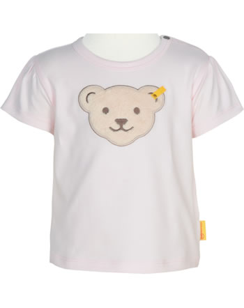 Steiff T-Shirt short sleeve BEAR AND CHERRY barely pink 2013232-2560