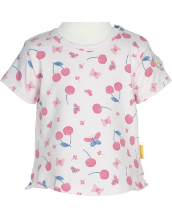Steiff T-Shirt short sleeve BEAR AND CHERRY barely pink 2013234-2560