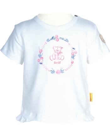 Steiff T-Shirt Kurzarm BEAR AND CHERRY bright white 2013240-1000