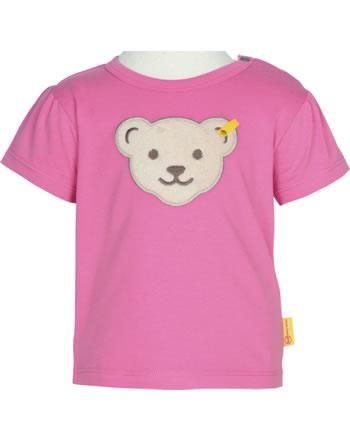 Steiff T-Shirt Kurzarm BEAR AND CHERRY pink carnation 2013232-3019