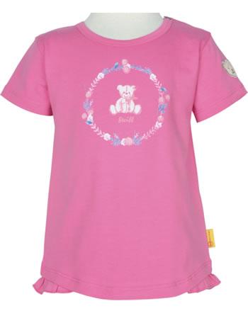 Steiff T-Shirt Kurzarm BEAR AND CHERRY pink carnation 2013240-3019