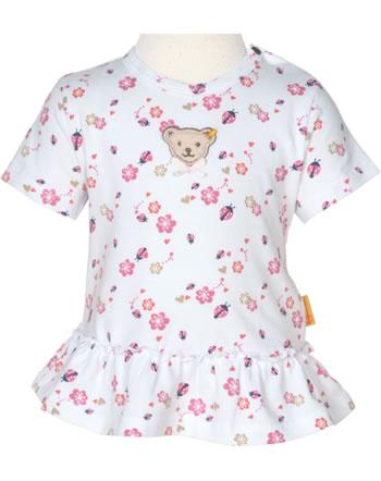 Steiff T-Shirt short sleeve BUGS LIFE Baby Girls bright white 2111418-1000