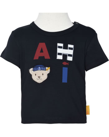 Steiff T-Shirt Kurzarm FISH AND SHIP Baby Boys steiff navy 2112336-3032