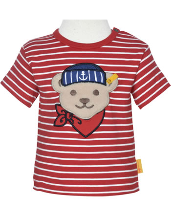 Steiff T-Shirt Kurzarm FISH AND SHIP Baby Boys true red 2112338-4015