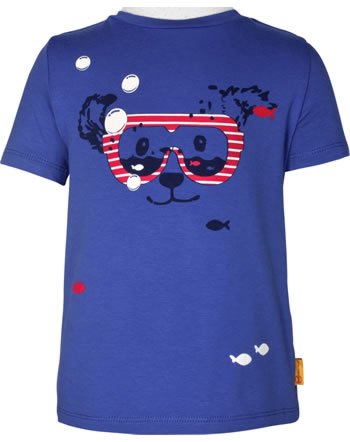 Steiff T-Shirt Kurzarm FISH AND SHIP Mini Boys deep ultramarine 2112127-6063