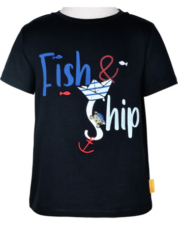 Steiff T-Shirt Kurzarm FISH AND SHIP Mini Boys steiff navy 2112104-3032