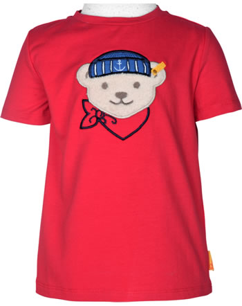 Steiff T-Shirt Kurzarm FISH AND SHIP Mini Boys true red 2112108-4015
