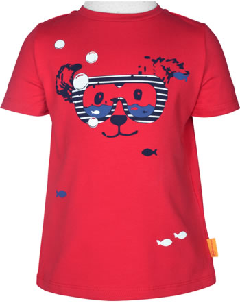 Steiff T-Shirt Kurzarm FISH AND SHIP Mini Boys true red 2112127-4015