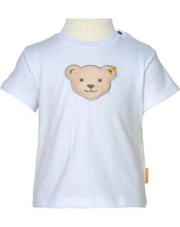 Steiff T-Shirt short sleeve HELLO SUMMER Baby Boys bright white 2113336-1000