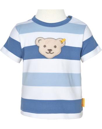 Steiff T-Shirt short sleeve HELLO SUMMER Baby Boys coronet blue 2113307-6048
