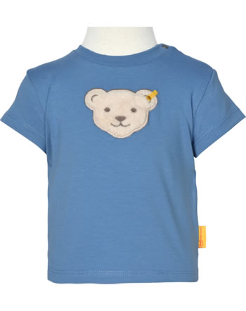 Steiff T-Shirt Kurzarm HELLO SUMMER Baby Boys coronet blue 2113336-6048