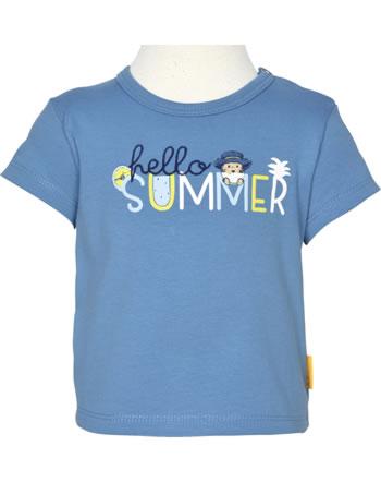 Steiff T-Shirt short sleeve HELLO SUMMER Baby Boys coronet blue 2113337-6048