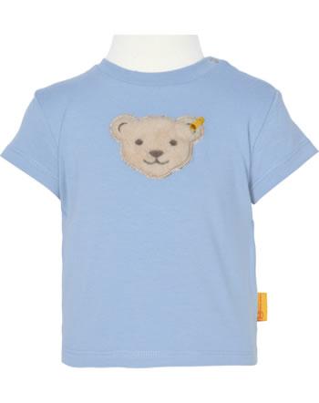 Steiff T-Shirt short sleeve HELLO SUMMER Baby Boys kentucky blue 2113336-6020