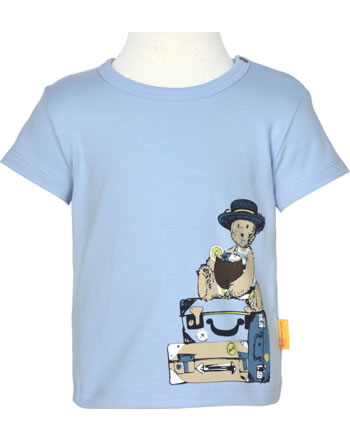 Steiff T-Shirt Kurzarm HELLO SUMMER Baby Boys kentucky blue 2113338-6020