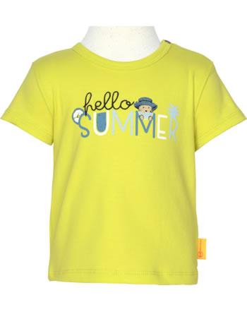 Steiff T-Shirt short sleeve HELLO SUMMER Baby Boys limeade 2113337-5022