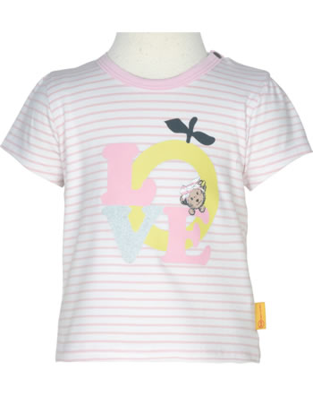 Steiff T-Shirt Kurzarm HELLO SUMMER Baby Girls pink lady 2113404-3033