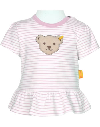 Steiff T-Shirt Kurzarm HELLO SUMMER Baby Girls pink lady 2113432-3033