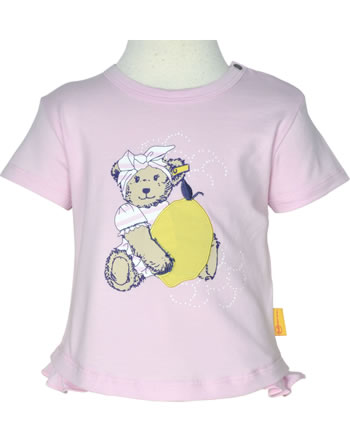 Steiff T-Shirt Kurzarm HELLO SUMMER Baby Girls pink lady 2113438-3033