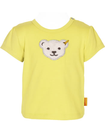 Steiff T-Shirt Kurzarm HELLO SUMMER Baby Girls yellow cream 2113431-2005