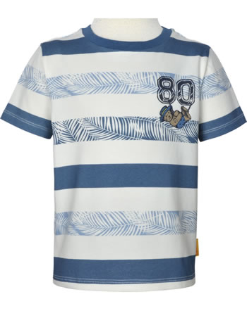 Steiff T-Shirt Kurzarm HELLO SUMMER Mini Boys coronet blue 2113120-6048