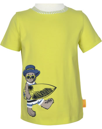 Steiff T-Shirt Kurzarm HELLO SUMMER Mini Boys limeade 2113122-5022