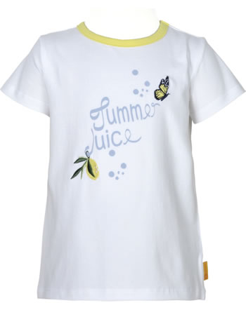 Steiff T-Shirt Kurzarm HELLO SUMMER Mini Girls bright white 2113236-1000