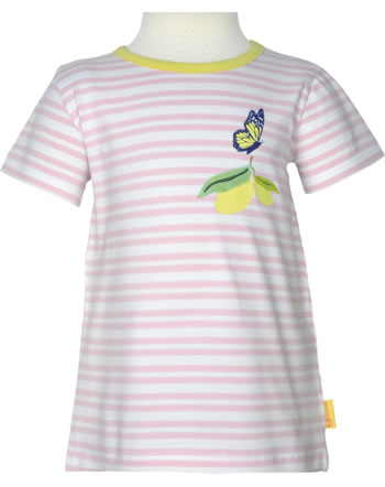 Steiff T-Shirt Kurzarm HELLO SUMMER Mini Girls pink lady 2113204-3033