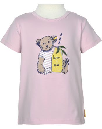 Steiff T-Shirt Kurzarm HELLO SUMMER Mini Girls pink lady 2113223-3033