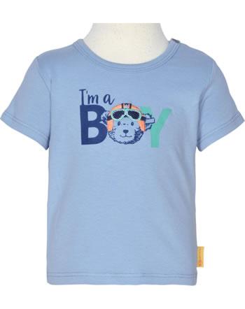 Steiff T-Shirt Kurzarm HIGH FIVE Baby Boys forever blue 2111311-6027