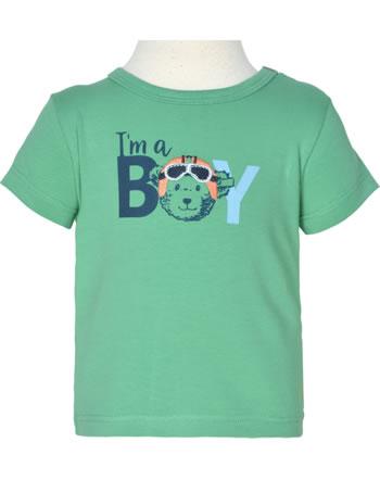 Steiff T-Shirt Kurzarm HIGH FIVE Baby Boys winter green 2111311-5021