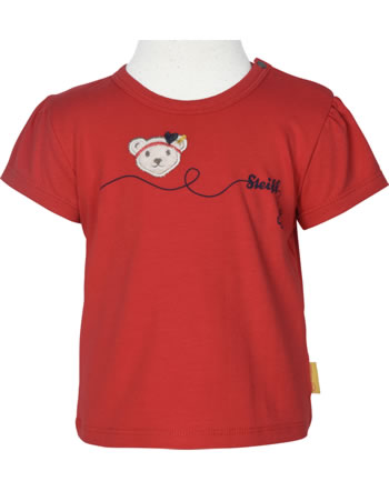 Steiff T-Shirt Kurzarm MARINE AIR Baby Girls true red 2112401-4015
