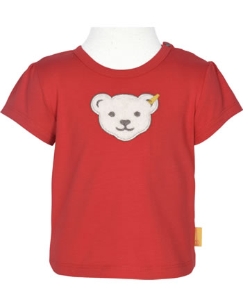 Steiff T-Shirt Kurzarm MARINE AIR Baby Girls true red 2112424-4015