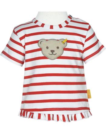 Steiff T-Shirt short sleeve MARINE AIR Baby Girls true red 2112437-4015