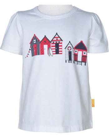 Steiff T-Shirt Kurzarm MARINE AIR Mini Girls bright white 2112228-1000