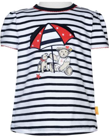 Steiff T-Shirt Kurzarm MARINE AIR Mini Girls steiff navy 2112226-3032
