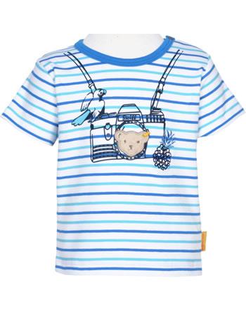 Steiff T-Shirt Kurzarm SAFARI BEAR bright white 2013138-1000