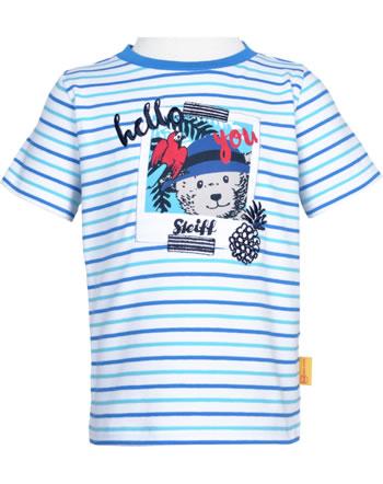 Steiff T-Shirt Kurzarm SAFARI BEAR bright white 2013329-1000