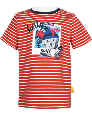 Steiff T-Shirt Kurzarm SAFARI BEAR fiery red 2013329-4012