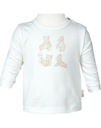 Steiff T-shirt à manches longue BEAR HUGS Baby Boys cloud dancer 2022628-1001