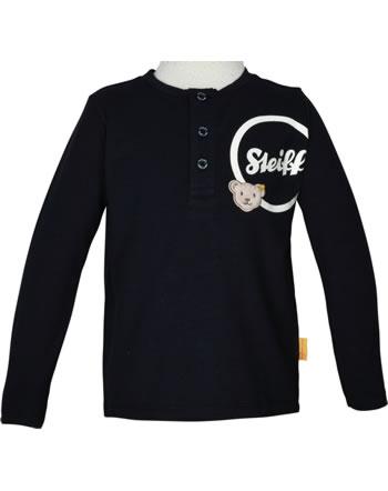 Steiff T-Shirt long sleeve BEAR TO SCHOOL steiff navy 2021103-3032