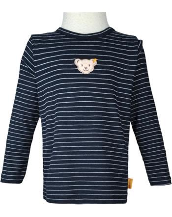 Steiff T-Shirt Langarm BEAR TO SCHOOL steiff navy 2021233-3032