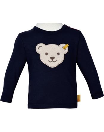 Steiff T-Shirt Langarm BEAR TO SCHOOL steiff navy 2021341-3032