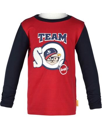 Steiff T-Shirt long sleeve BEAR TO SCHOOL tango red 2021101-4008