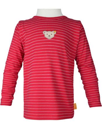 Steiff T-shirt à manches longue BEAR TO SCHOOL tango red 2021233-4008