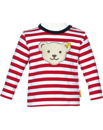 Steiff T-Shirt Langarm BEAR TO SCHOOL tango red 2021305-4008