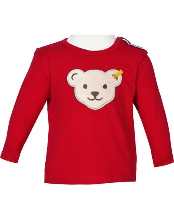 Steiff T-Shirt Langarm BEAR TO SCHOOL tango red 2021341-4008
