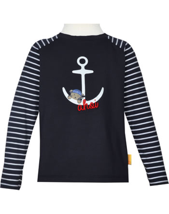 Steiff T-Shirt Langarm FISH AND SHIP Mini Boys steiff navy 2112115-3032